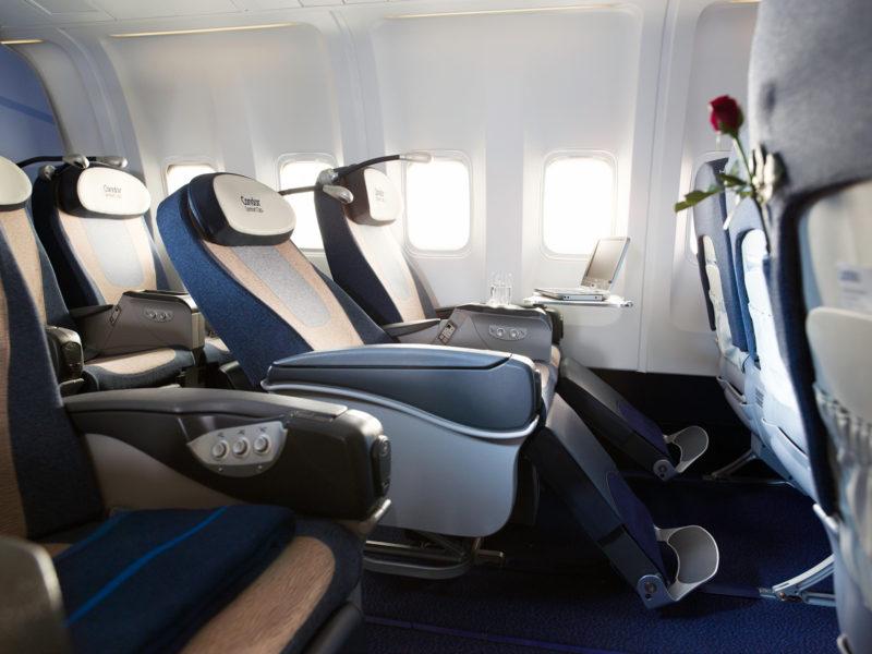 Fly Business class condor