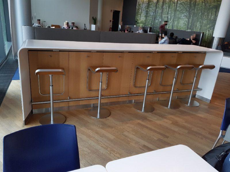 High chais Lufhtansa business class lounge