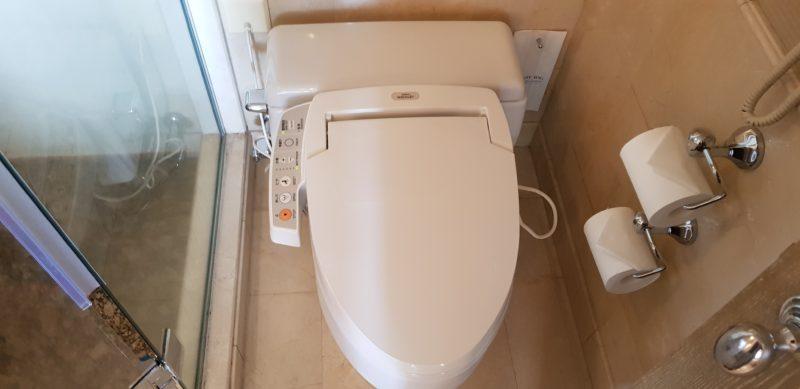 Review Hilton Tokyo Odaiba, toilet