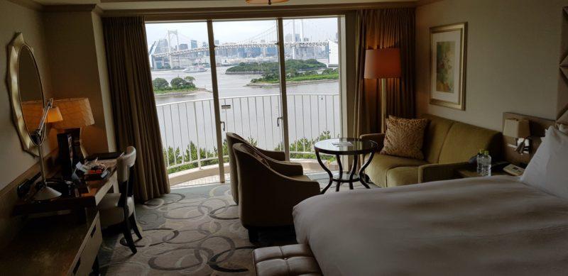 Review Hilton Tokyo Odaiba, room overview