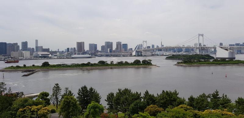 Review Hilton Tokyo Odaiba, view