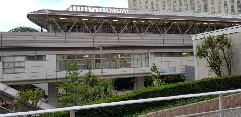 Review Hilton Tokyo Odaiba, Daiba station