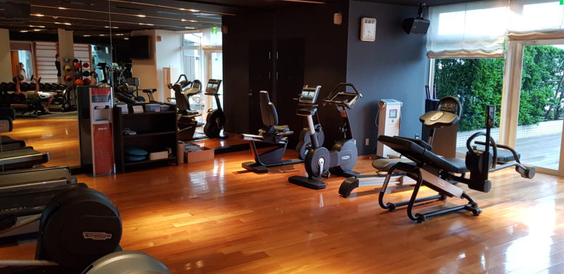 Review Hilton Tokyo Odaiba, fitness