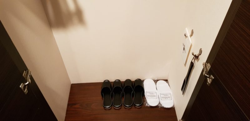 Review ibis styles sapporo, closet