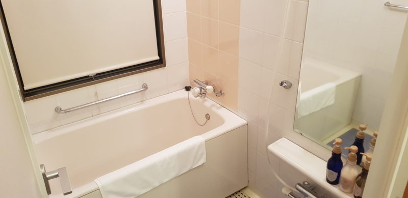 Review Hotel Nord Otaru, bathroom