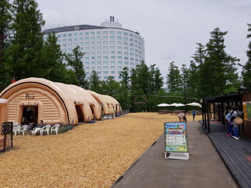 Review Hilton Niseko Village, adventute park