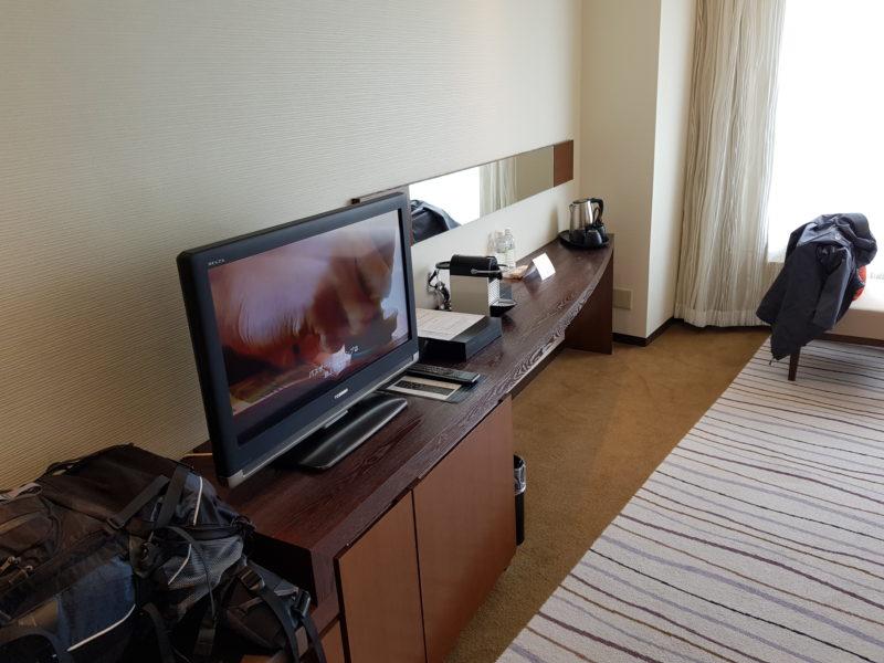 Review Hilton Niseko Village, desk
