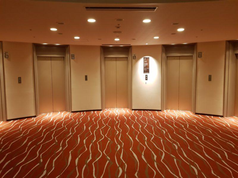 Review Hilton Niseko Village, elevator