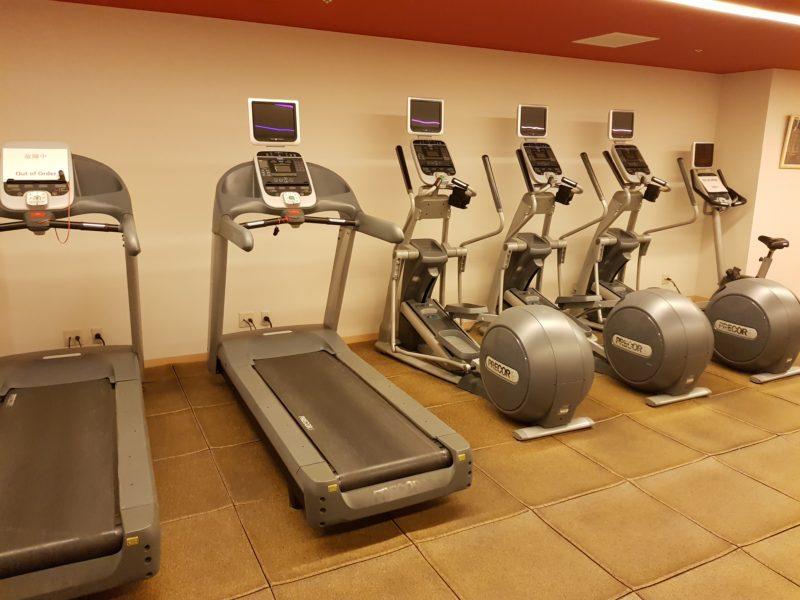 Review Hilton Niseko Village, fitness