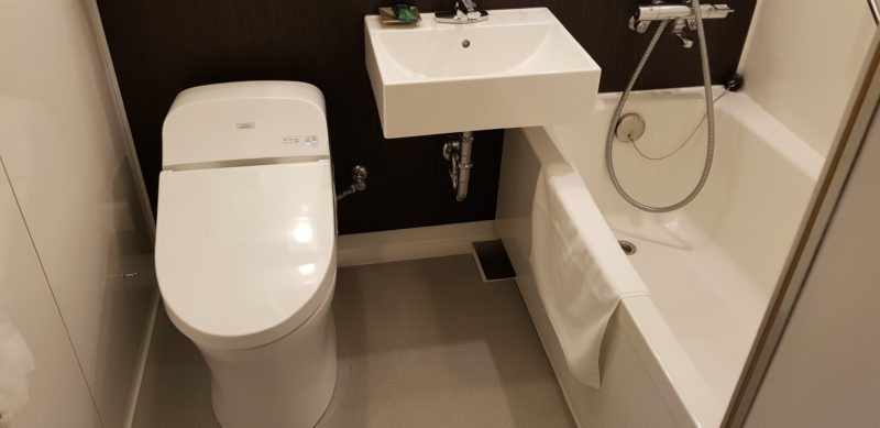 Review Four points by sheraton hakodate, bathroom
