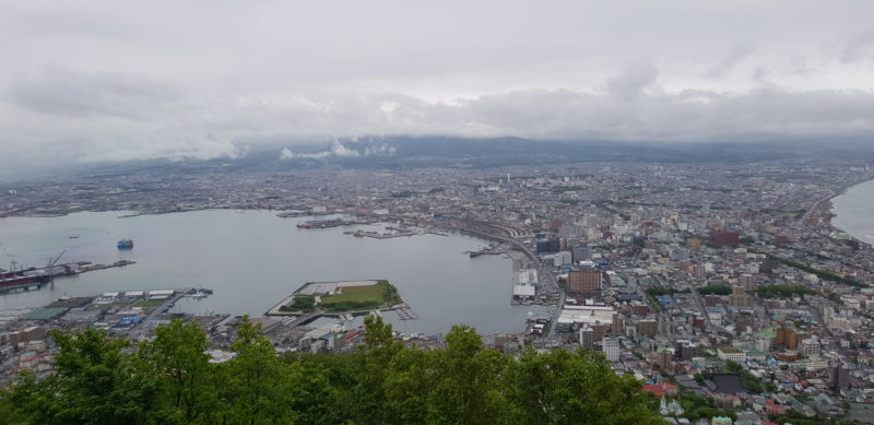 Review Four points by sheraton hakodate, hakodate view
