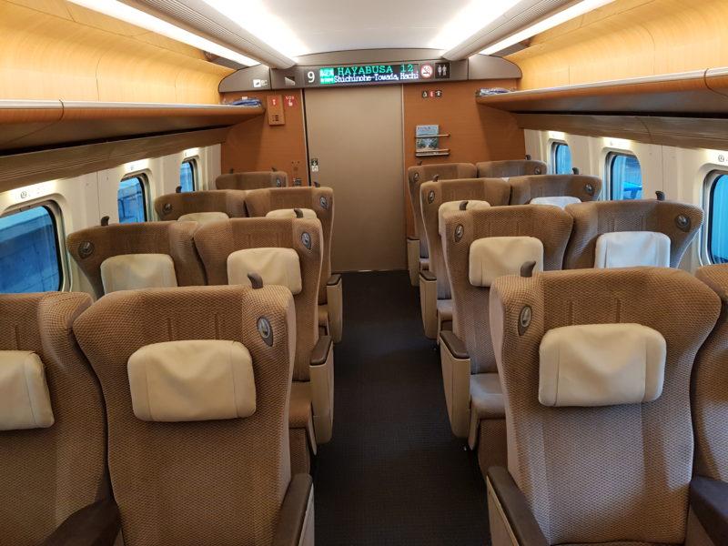 Review shinkansen japan, Hayabusa