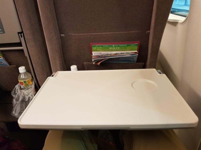 Review shinkansen high speed train japan, table
