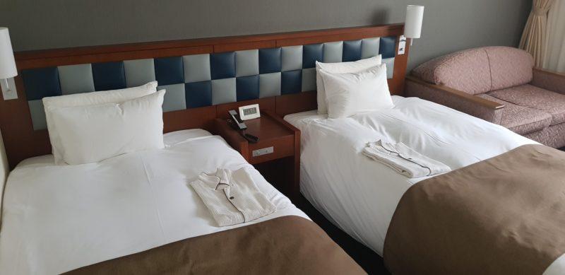 Review: Hotel Folkloro Kakunodate Japan, twin room