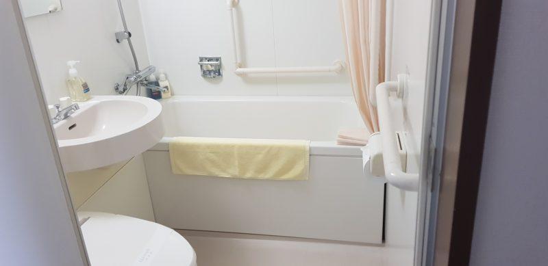Review: Hotel Folkloro Kakunodate Japan, bathroom