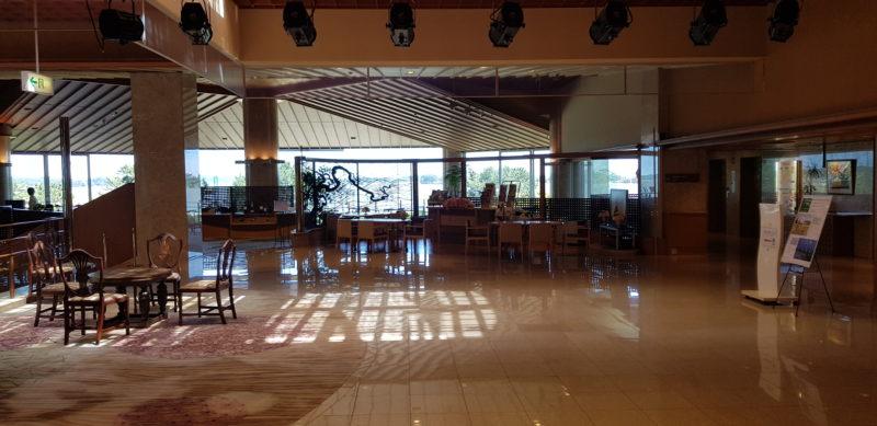 Review: Ichinobo Matsushima, a luxurious Japanese Onsen Hotel, lobby