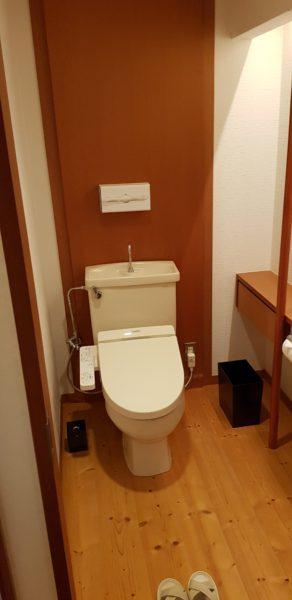 Ichinobo Matsushima, a luxurious Japanese Onsen Hotel, toilet