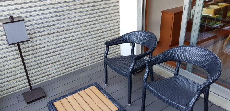 Ichinobo Matsushima, a luxurious Japanese Onsen Hotel, balcony