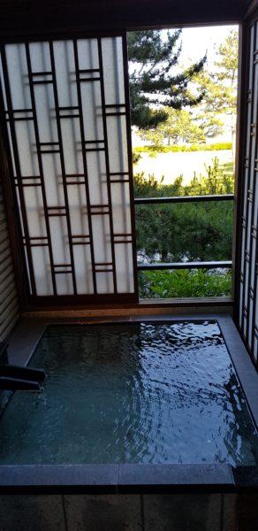 Ichinobo Matsushima, a luxurious Japanese Onsen Hotel, hot tub