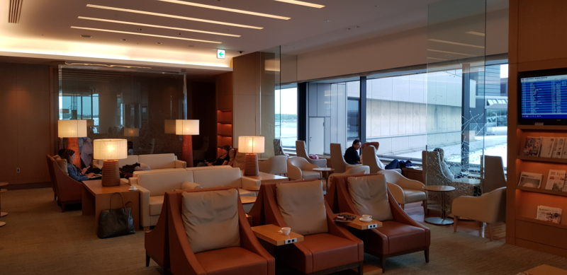 Review: JAL Sakura lounge Tokyo Narita Terminal 2