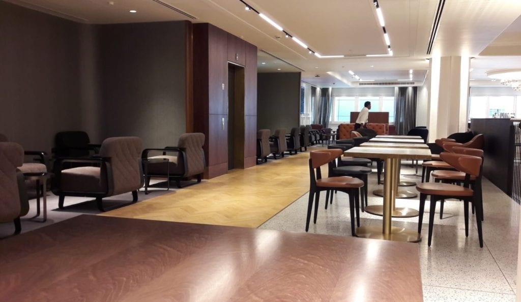 Review Qantas Lounge London