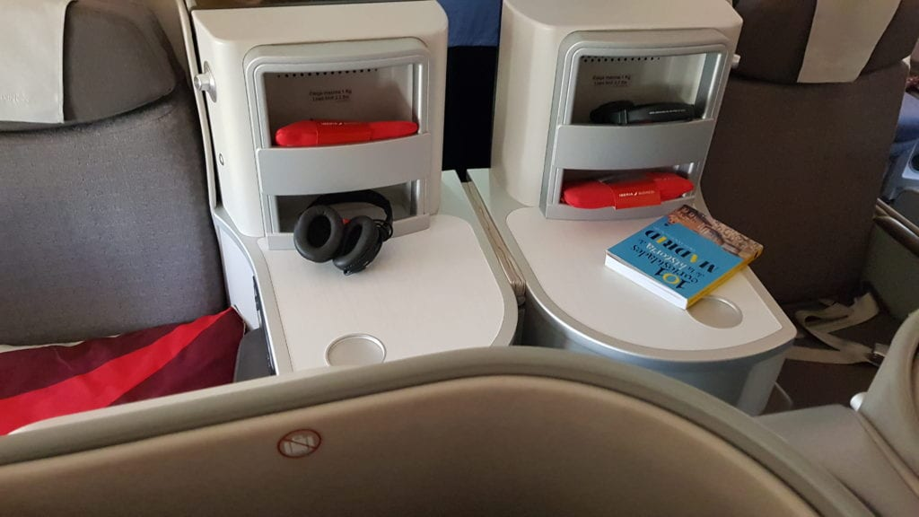 review iberia business class