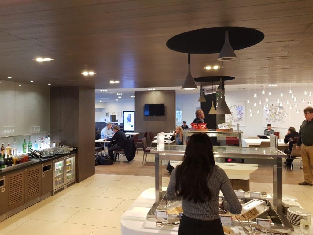 British Airways Lounge Edinburgh