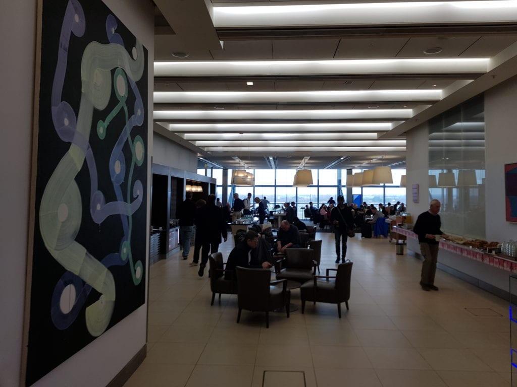British Airways Galleries Club North Lounge LHR Terminal 5