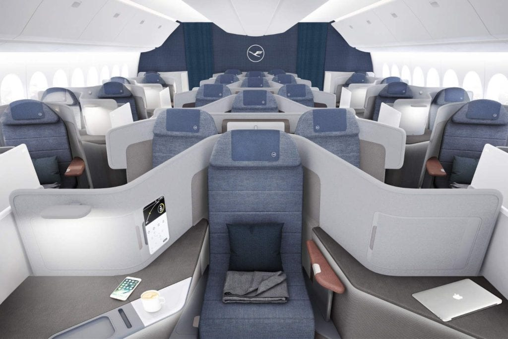 New business class seats 2019