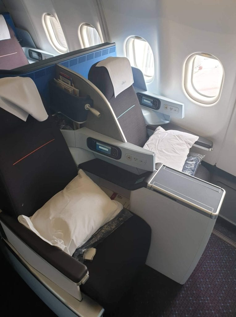 Review KLM business class
