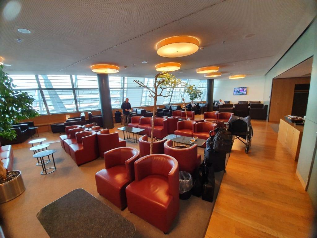 Dnata Skyview Lounge Zurich
