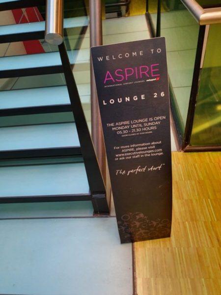 Aspire Lounge 26 Amsterdam