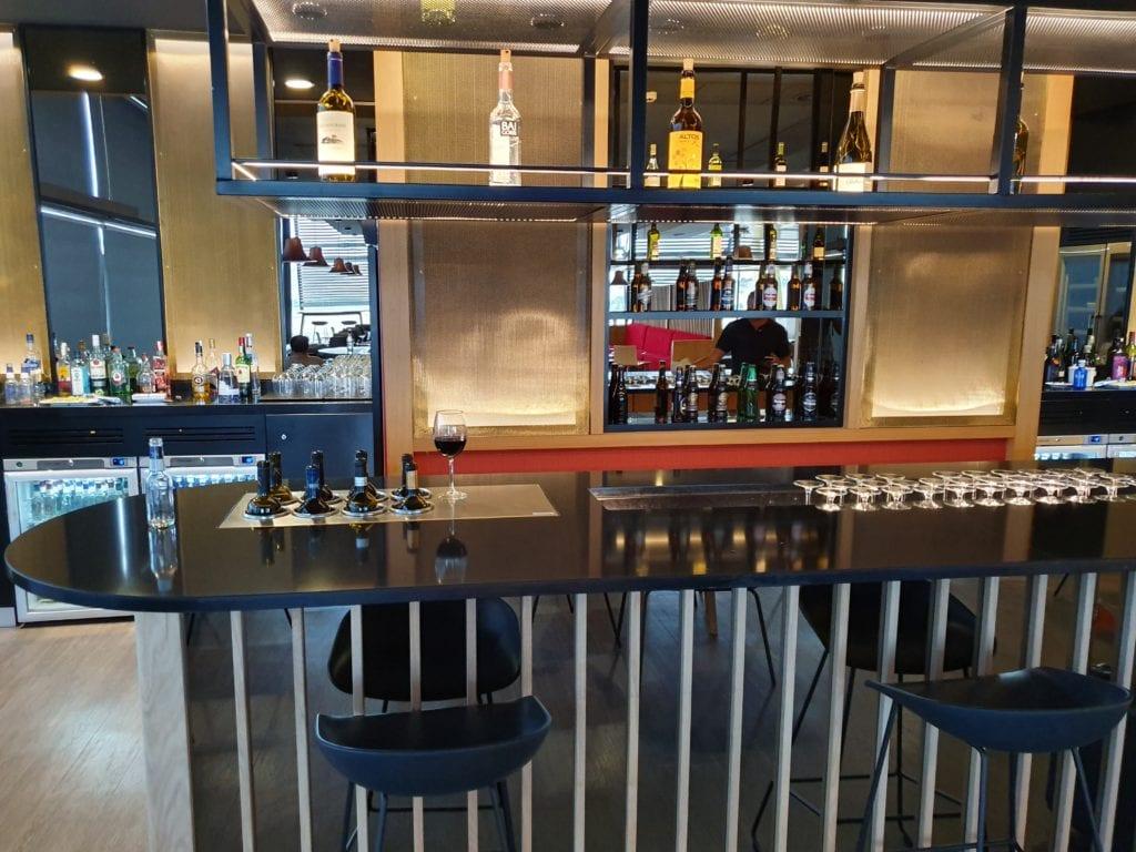 Iberia Velázquez Lounge Madrid wine