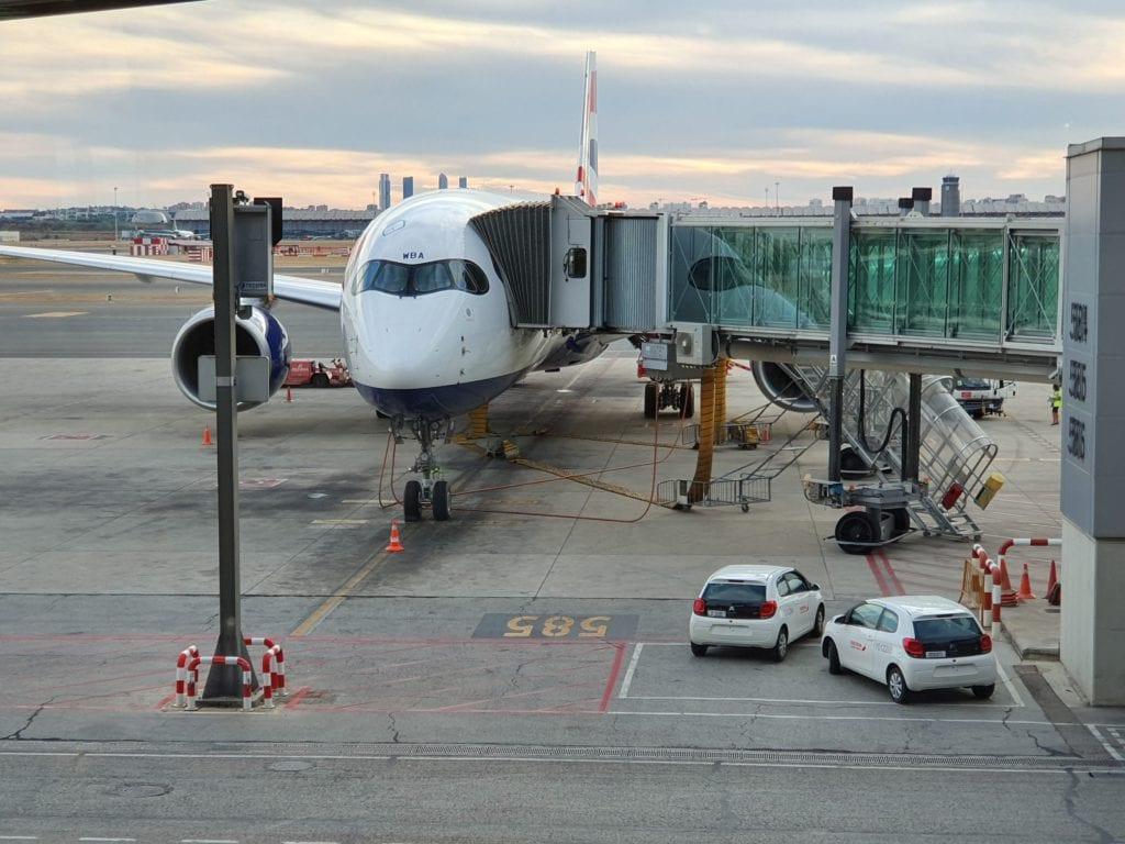 British Airways new A350