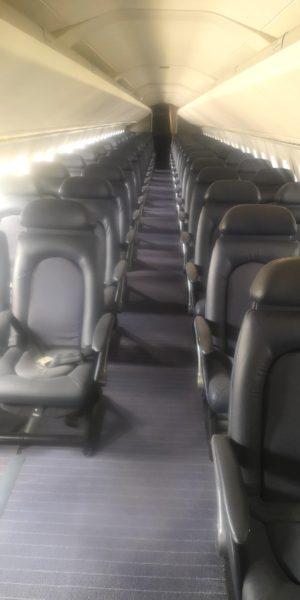 British Airways Concorde seats