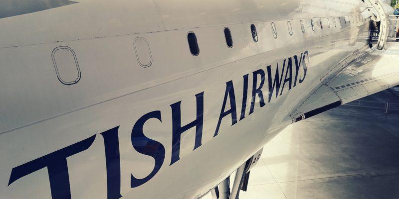 review british airways concorde