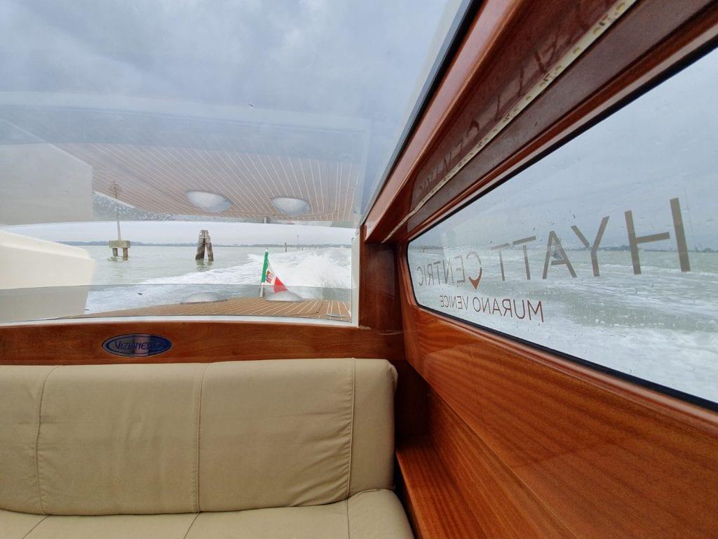 Review Hyatt Centric Murano Venice private boat