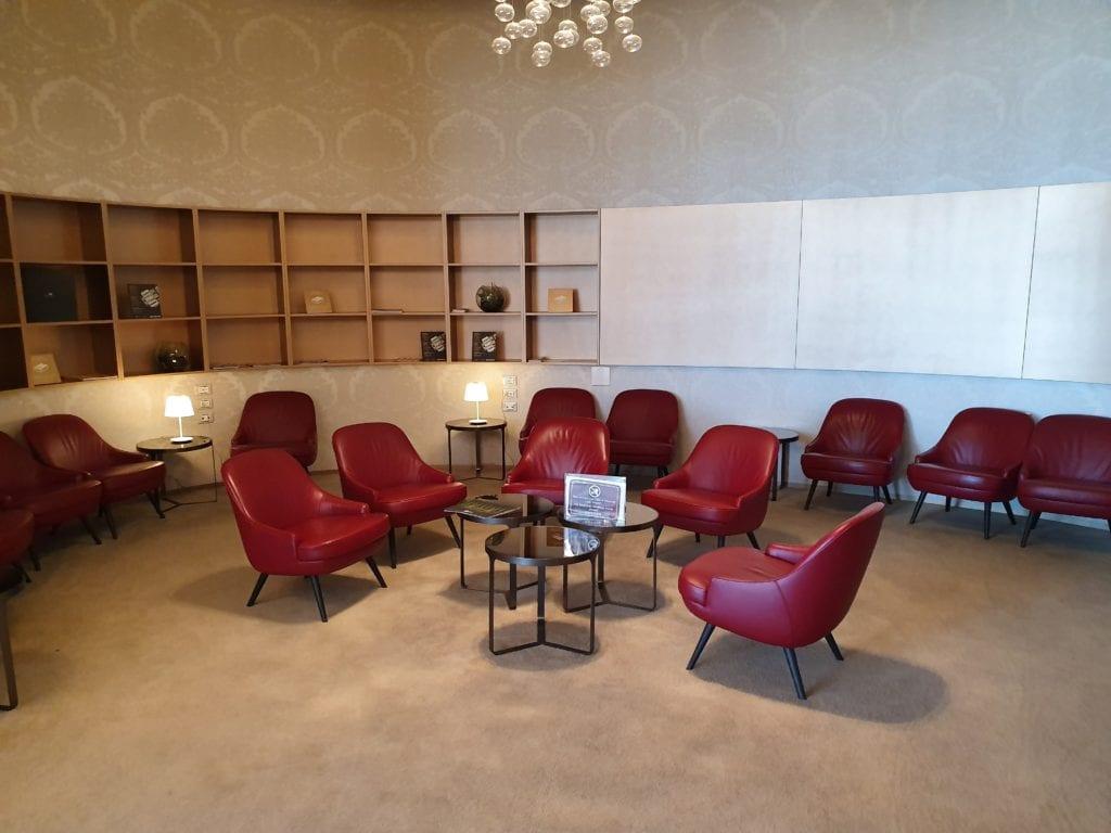 Marco Polo Club lounge Venice