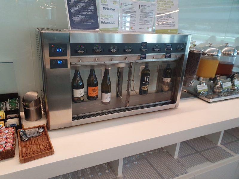 Drinks TAP Premium Lounge Lisbon
