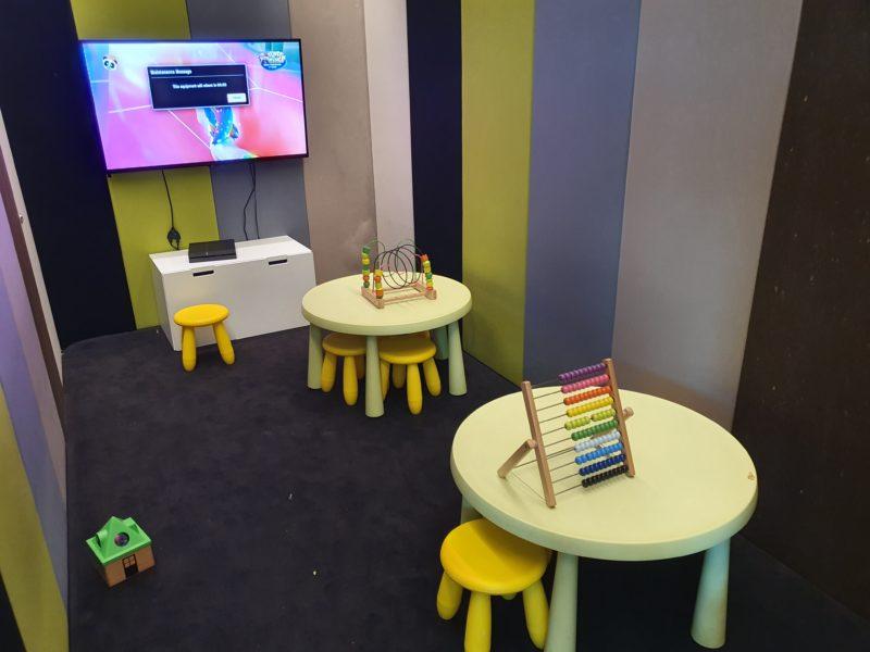 Kids Corner TAP Premium Lounge Lisbon