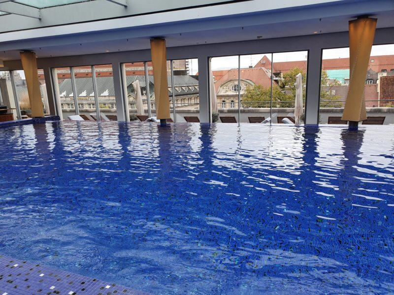 Bayerischer Hof Munich pool