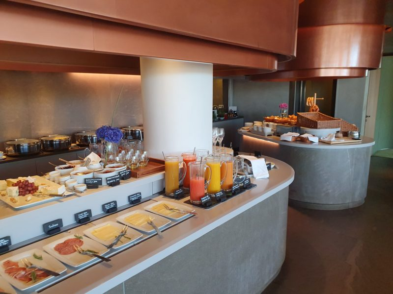 Bayerischer Hof Munich Breakfast buffet