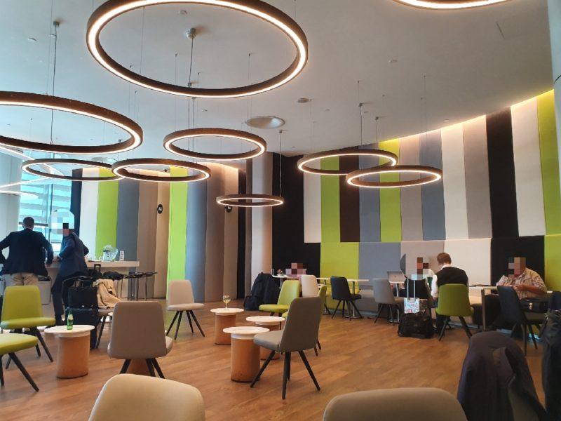 Seating TAP Premium Lounge Lisbon