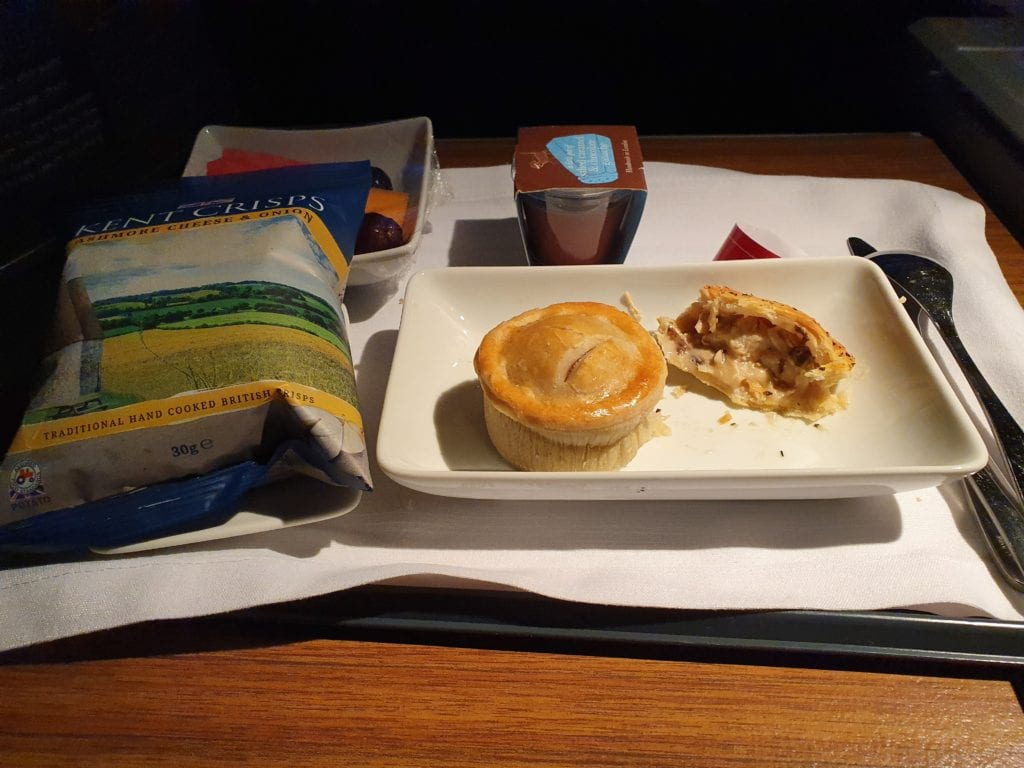 Flight review American Airlines Business class