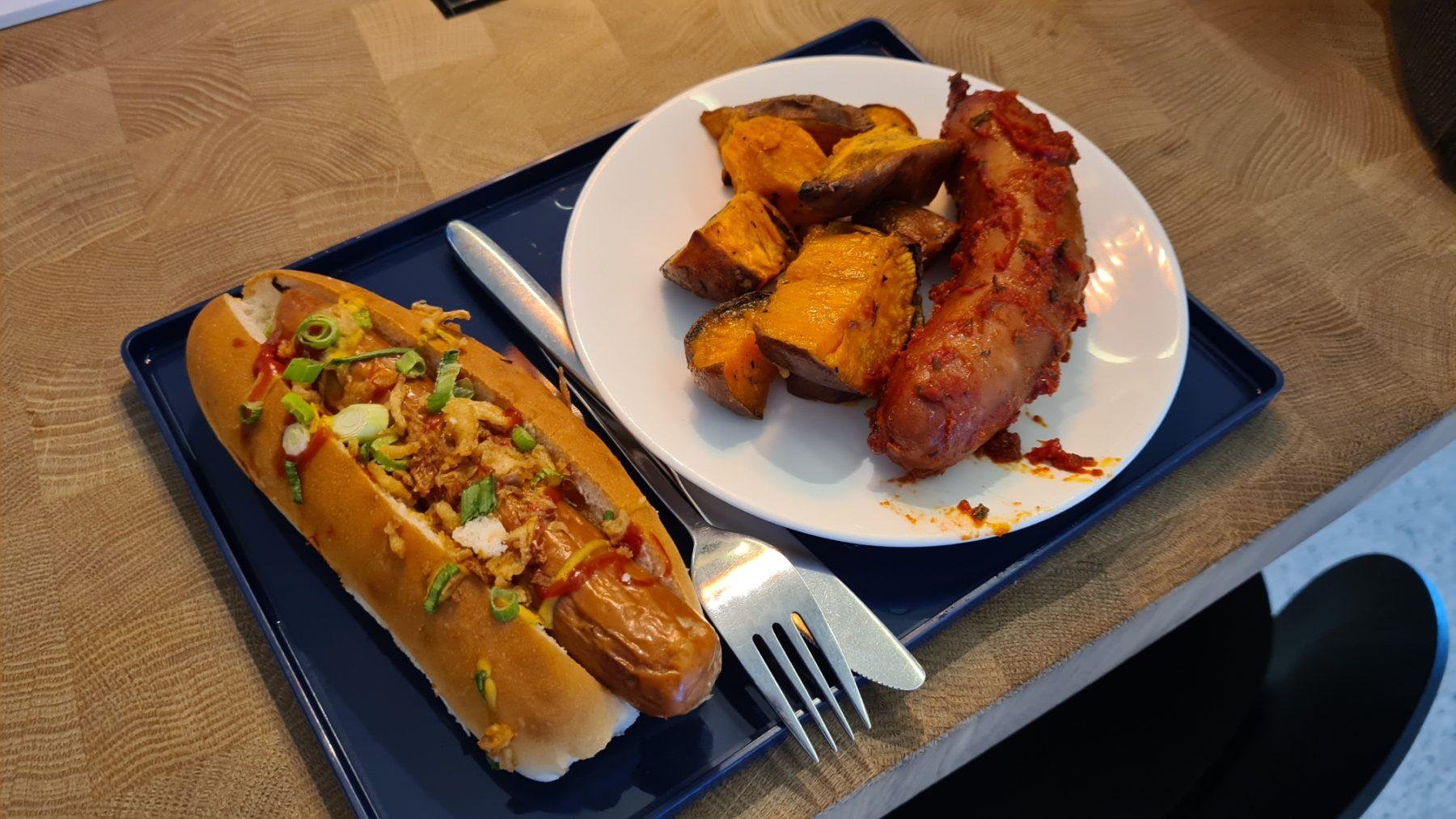 amsterdam crown lounge covid food