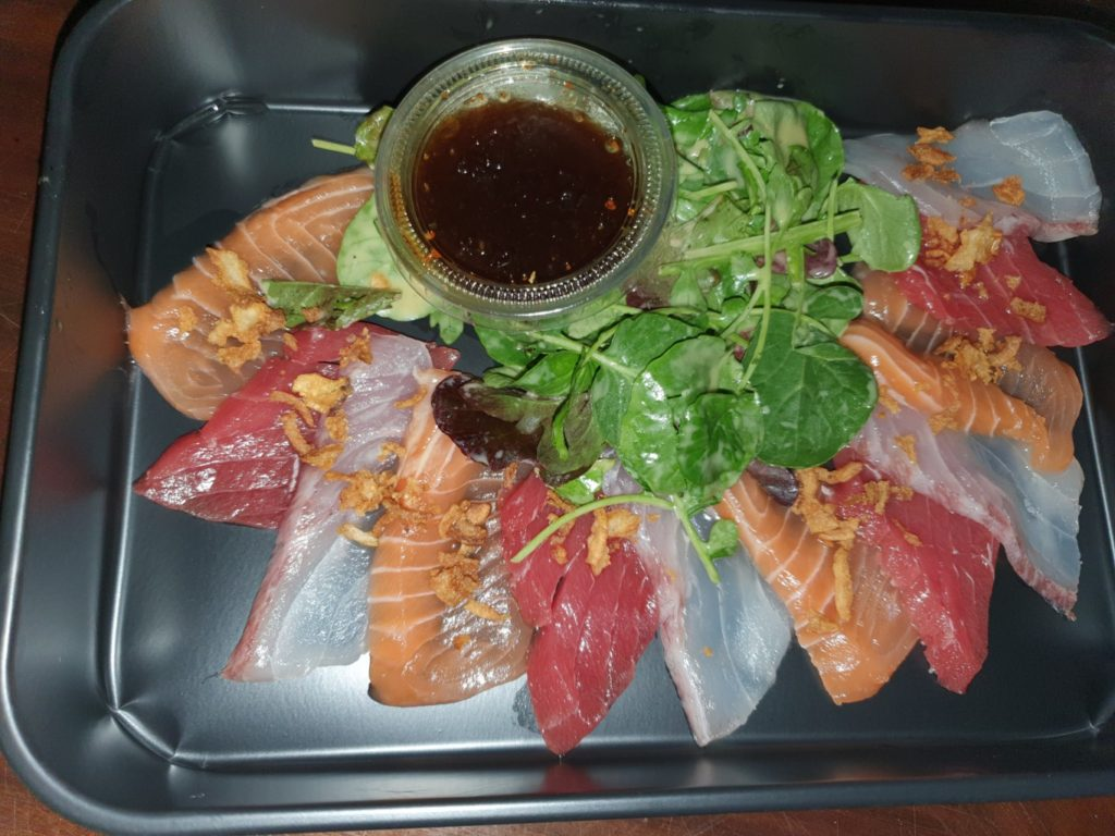 review Pine Cliffs Resort sushi