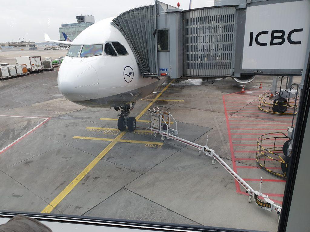 review Lufthansa Business class A330