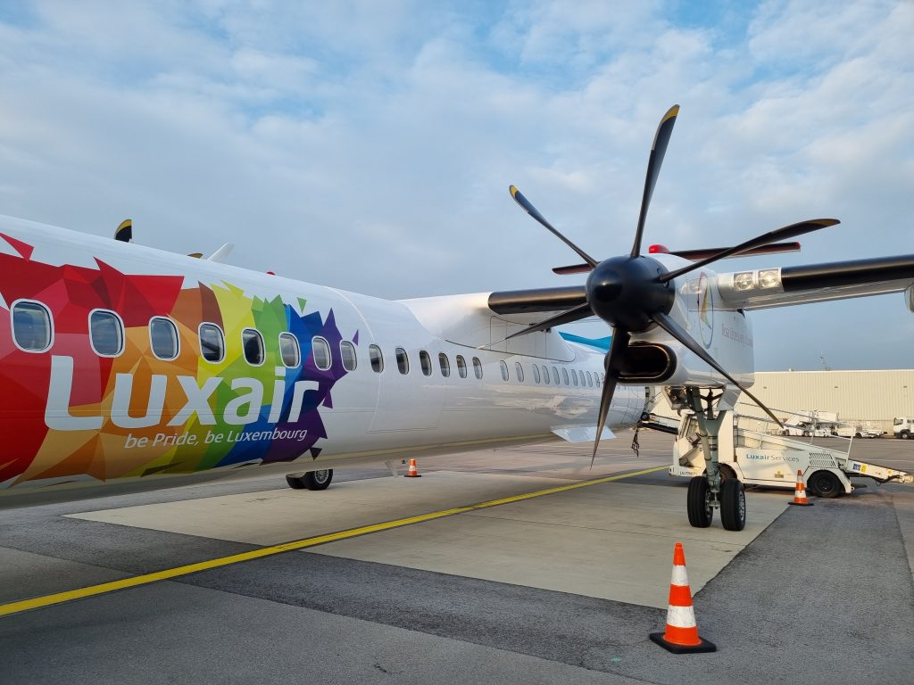 Review Luxair Business Class Be Pride Be Luxembourg Livery