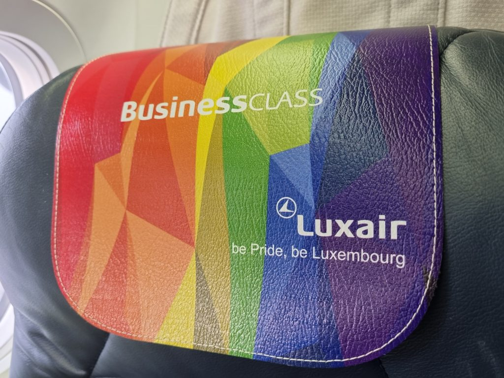 Review Luxair Business Class Seats