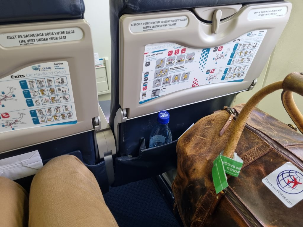 Review Luxair Business Class legroom